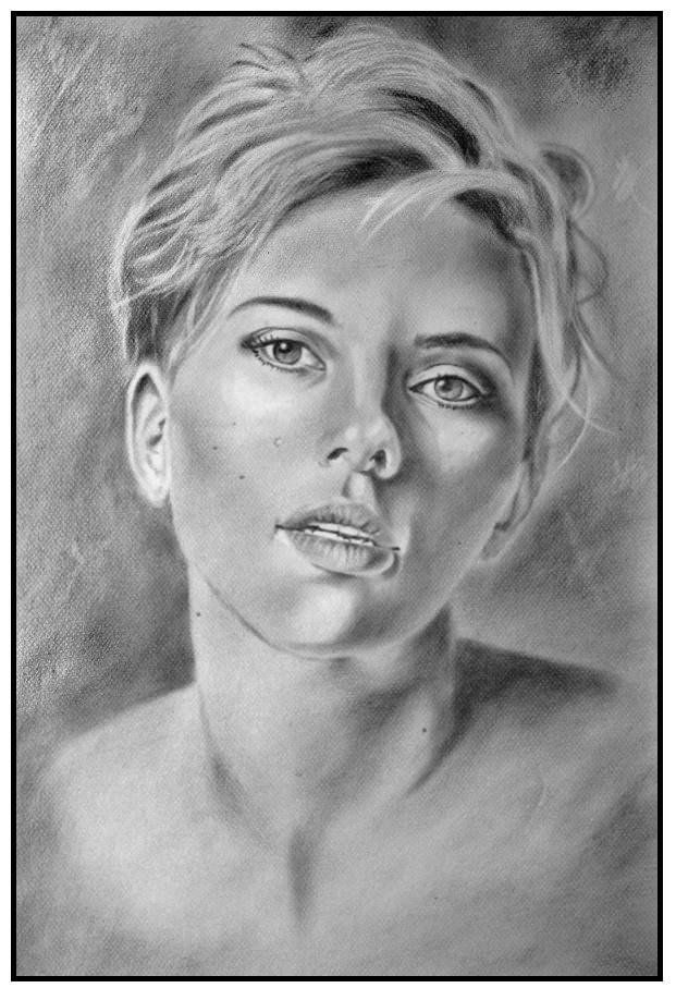 Scarlett Johansson by burdge12
